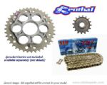 Renthal Sprockets and GOLD DID ZVM-X Chain - Ducati Monster 1100 / 1100S / Evo (09-13)